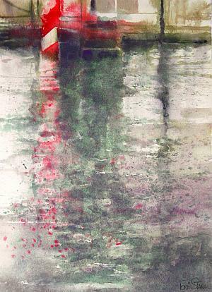 toni-stangl-aquarell-venedig-spiegelung-2